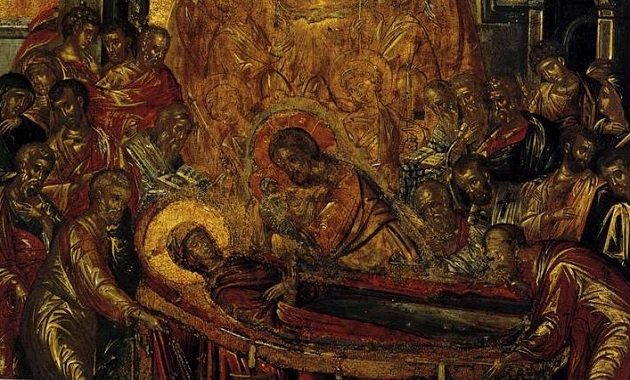 Dormition of the Theotokos Icon02