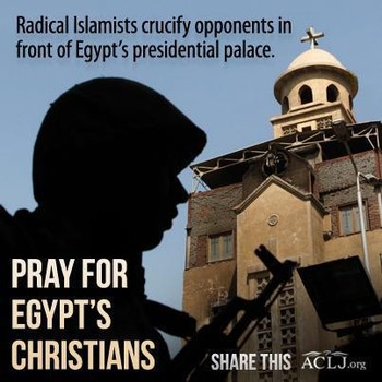 Egyptian Christian Scapegoats of Brotherhood