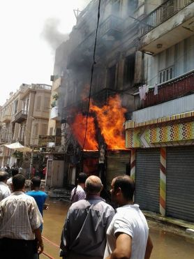 Egyptian Church torched