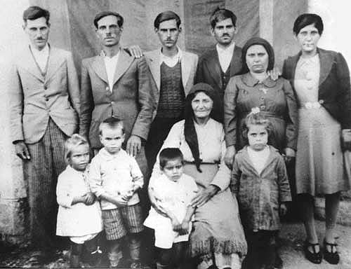 Old family photo from Cyprus