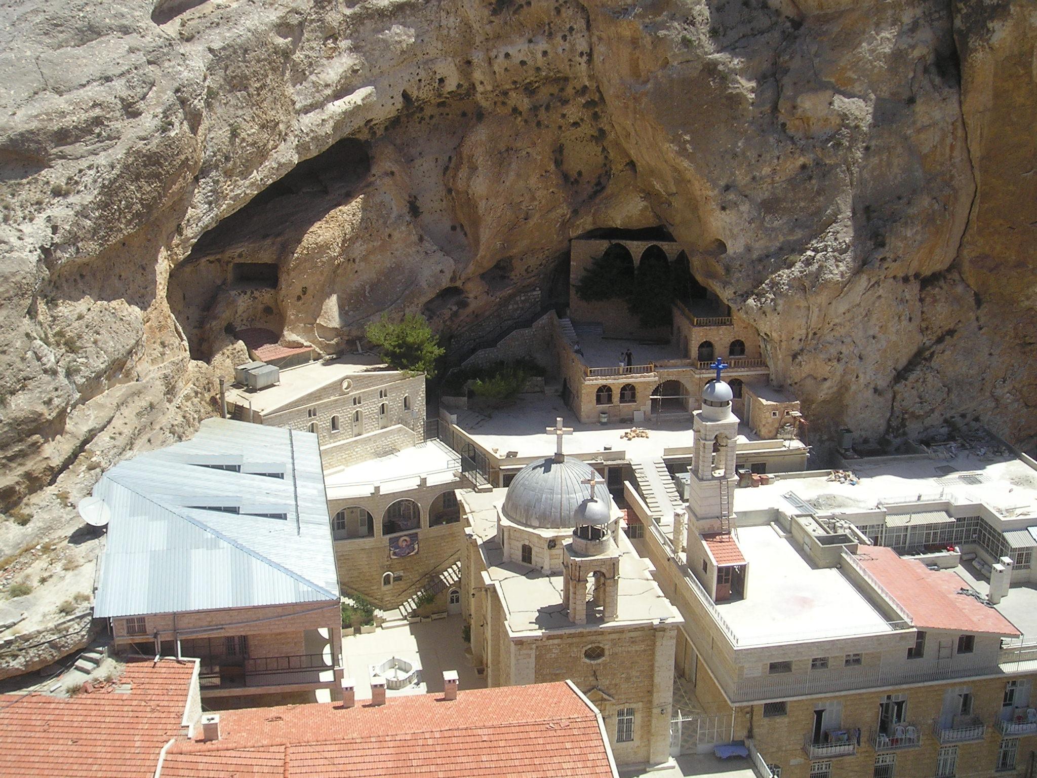 St Thecla Monastery - Maaloula