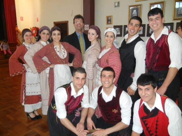 Cypriot Dancers for Serbian-Greek Orthodox Friendship Day