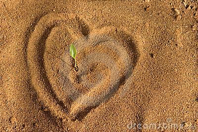 heart-on-sand