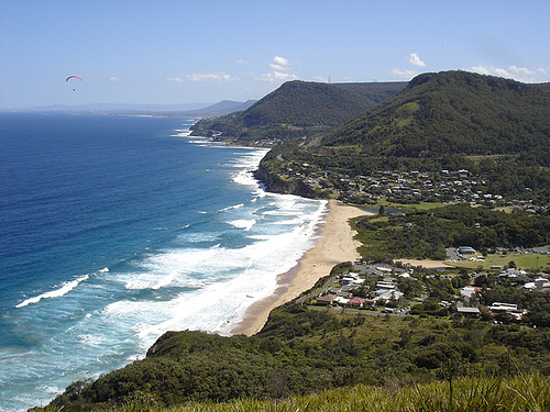 stanwell-park-hang-glider