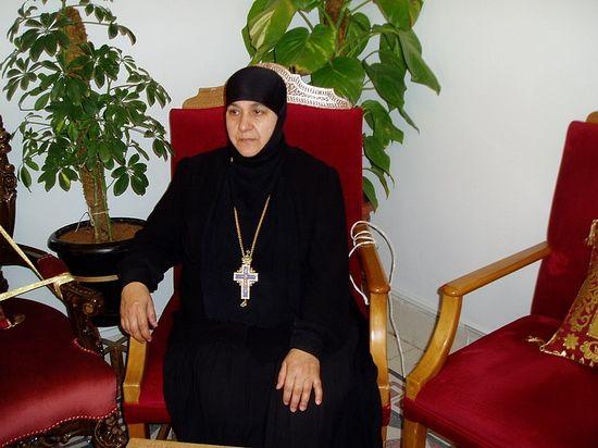 Abbess Pelagia Sayyaf of St Thecla Monastery
