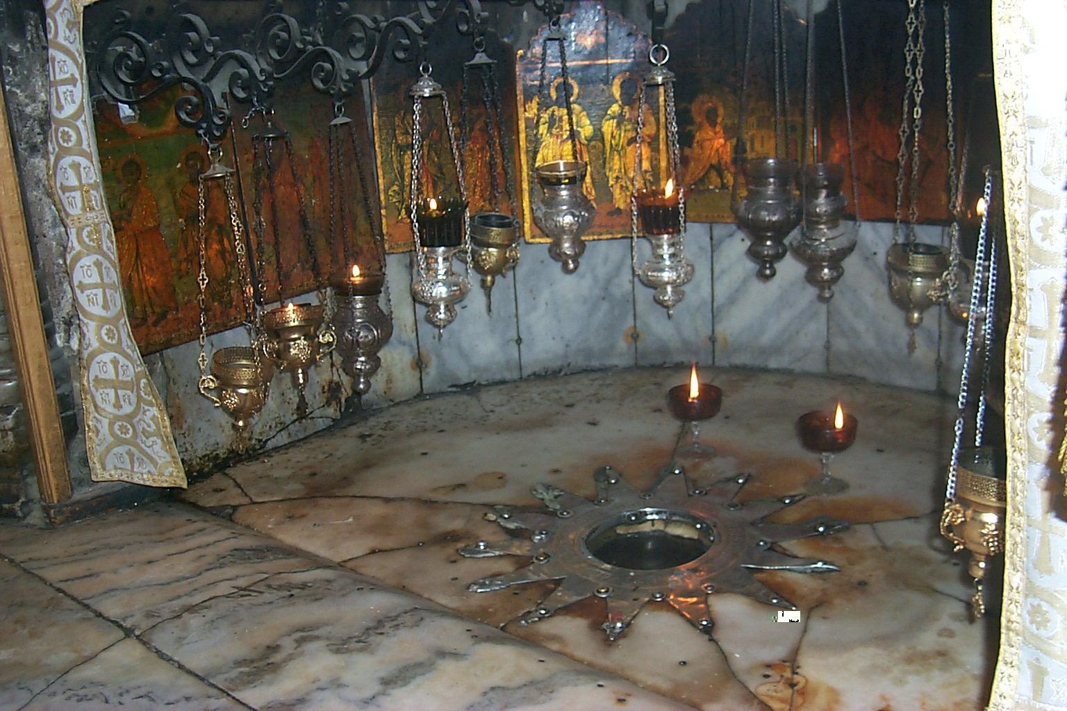 Church of Nativity - Bethlehem Cave