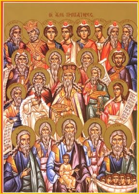 Icon of the Forefathers