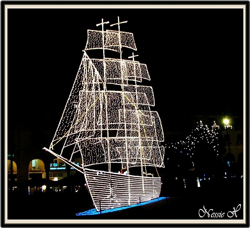 Greek Christmas boat03