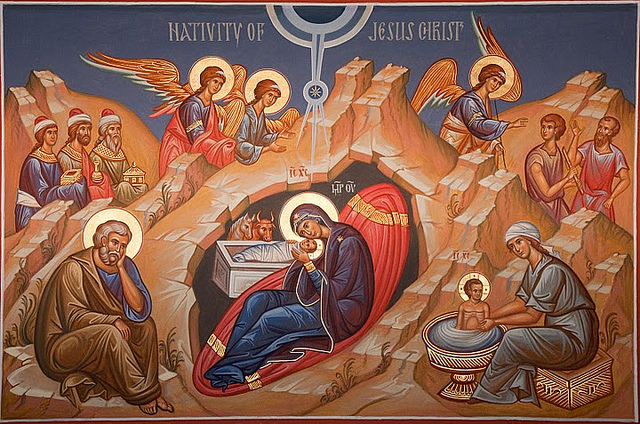 Icon of Nativity of Christ