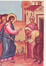 Jesus healing the Crippled Woman - Lk10
