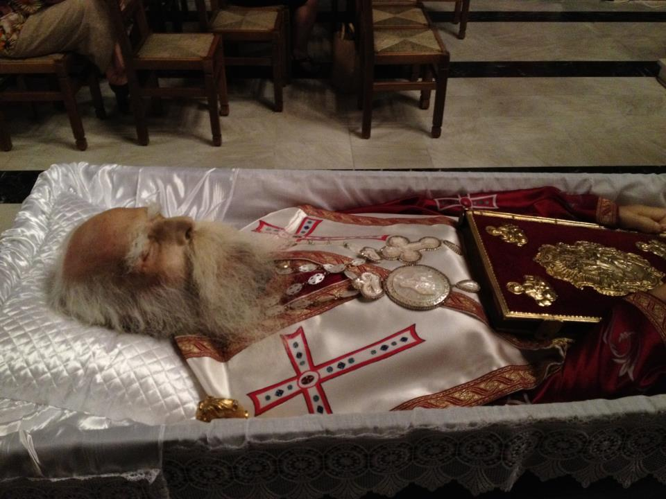 Metropolitan Meletios of Nikopolis and Preveza funeral