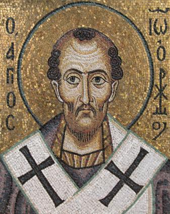 St John Chrysostom Archbishop of Constantinople