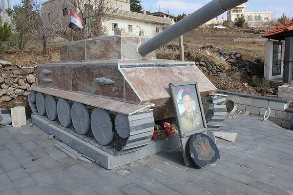 Druze soldier's grave