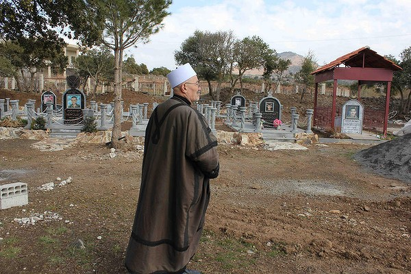 Druze war cemetery