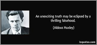 Huxley on truth and falsehood