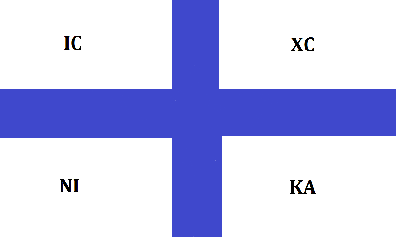 One of the flags of Independance