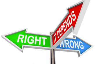 Moral issues signposts