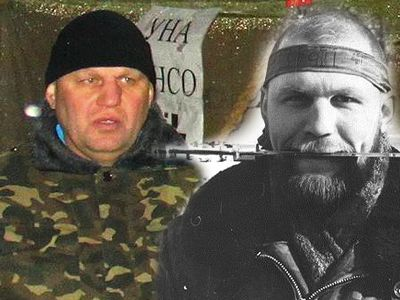 Olexander Muzychko today in Kiev and in Chechnya in 1994