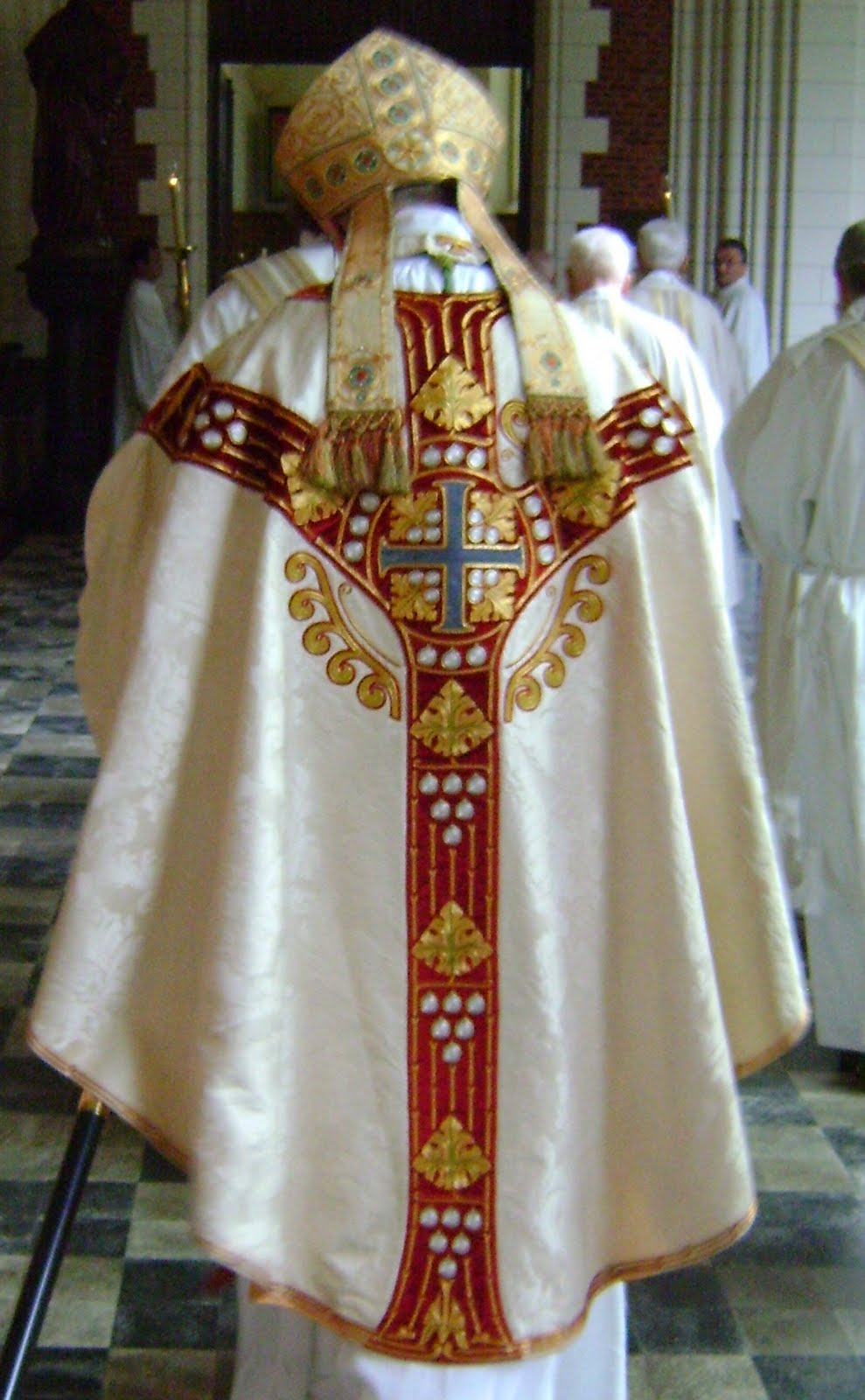 Papal Christian vestment