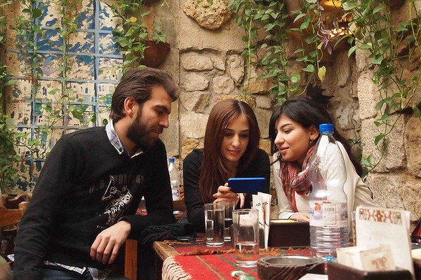 Reme (centre) Samer (left) Rana (right)