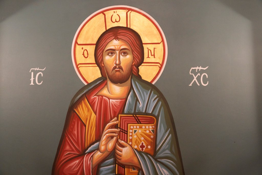 Icon of Christ at Renmark Greek Orthodox church