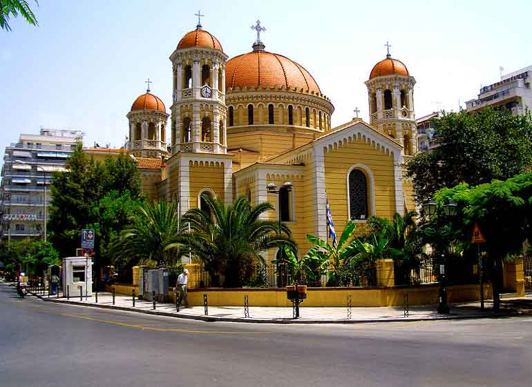 Church of St Gregory Palamas in Thessalonica - Greece