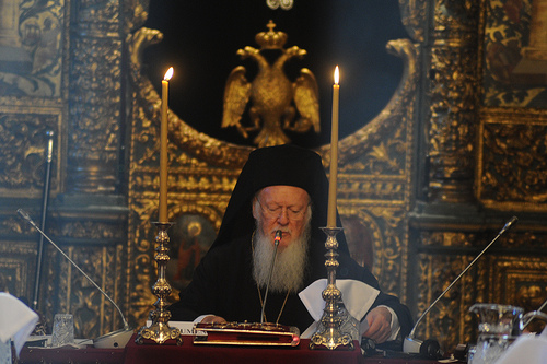 Ecumenical Patriarch Bartholomew at Synaxis of Orthodox Primates 2014