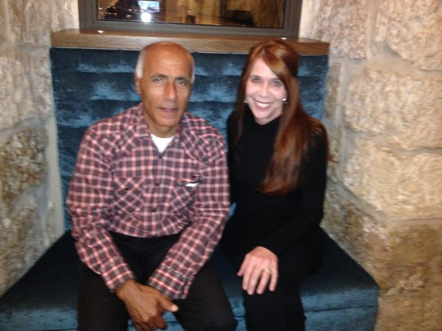 Eileen Fleming and Mordechai Vanunu