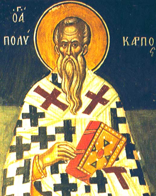 St Polycarp Bishop of Smyrna
