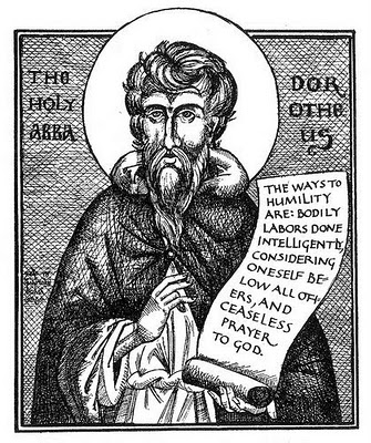 St Dorotheos icon sketch