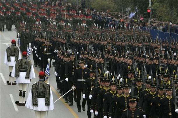 GREECE MILITARY PARADE