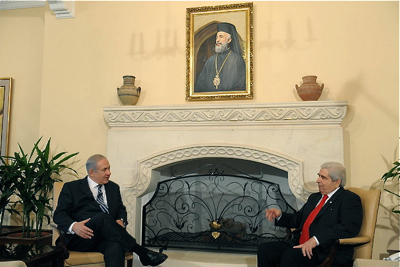 Netanyahu and Christofias