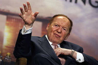 Sheldon Adelson donates money to Republicans