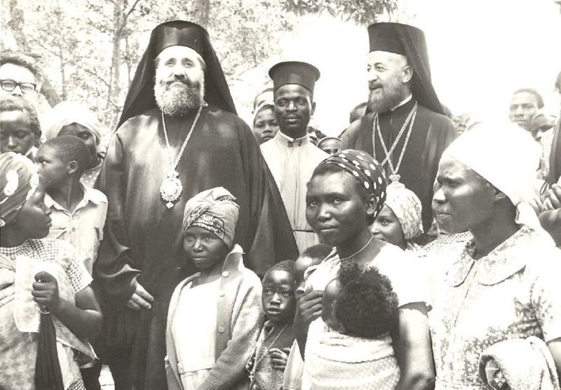Archbishop Makarios III of Cyprus 11 - Africa mission