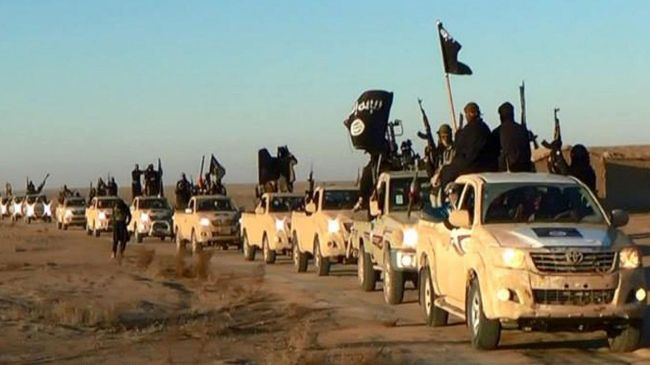 Convoy of ISIL scum