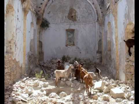 Desecrated northern Cypriot church