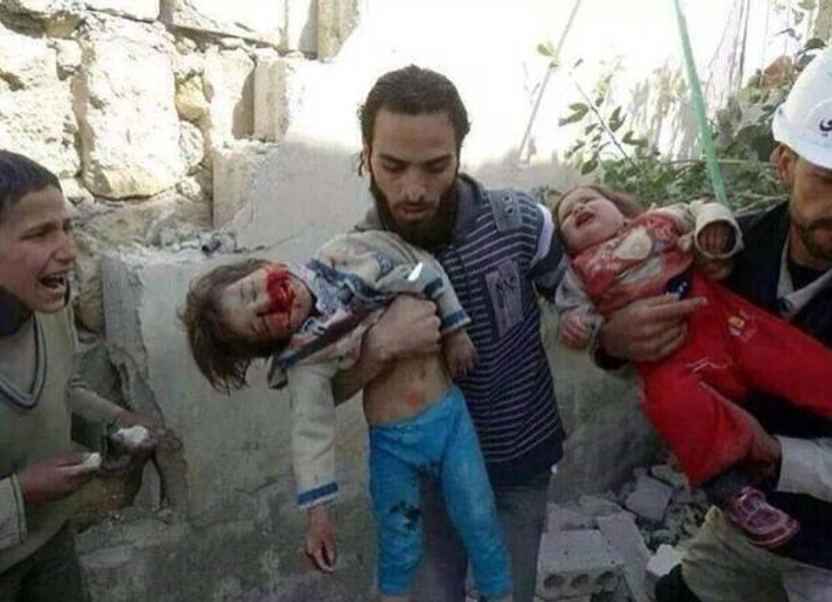 Gaza bombing victims