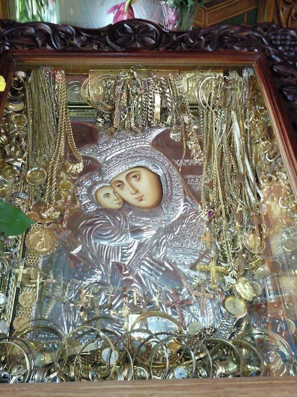 Icon of Panayia Kamariani