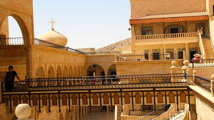 Mar Mattai Monastery - Mt Alaf 20km from Mosul