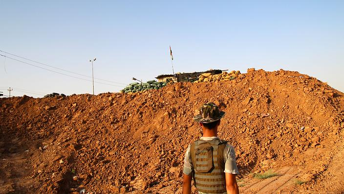Peshmerga checkpoint