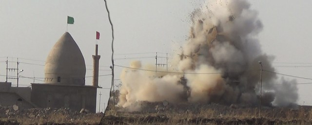 Shia mosque destroyed in Bashir02