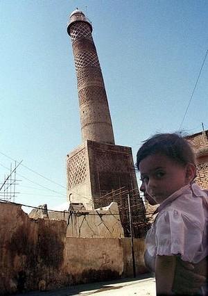 Tilting al-Hadba minaret in Mosul