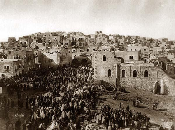 Bethlehem_Christmas_pilgrims_1890