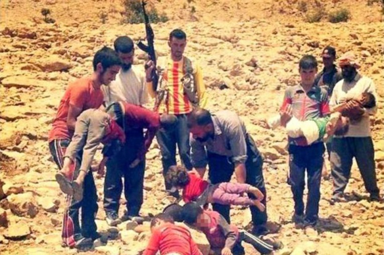 Children dying of thirst on Iraqi mountain