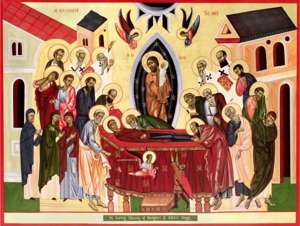 Icon of the Dormition (Koimisis)