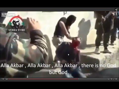 Syrian Christian beheading