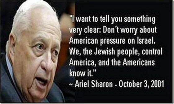 Ariel Sharon quote about American criticisms of Israel
