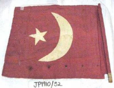 Broken Hill Ottoman flag