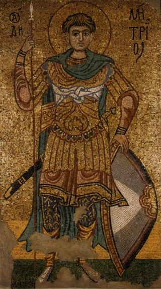 St Demetrios icon