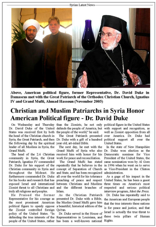 Christians in Syria pay for American-Israeli foreign policies01
